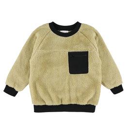 Simple Kids Ravioli Polar sand sweatshirt