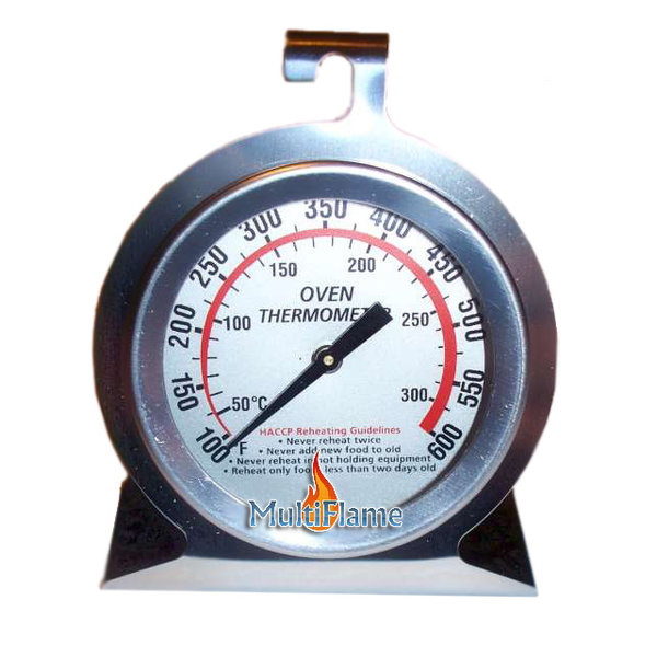 Broilfire RVS oven / BBQ thermometer met haak