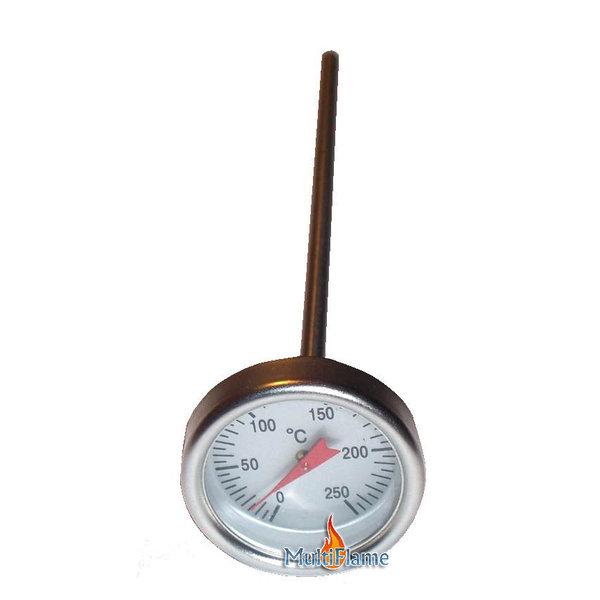 Broilfire RVS thermometer voor vlees en vloeistof