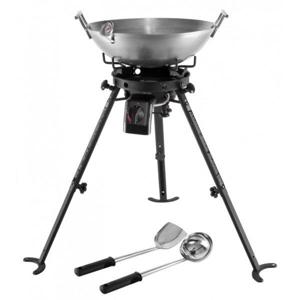 Jansberg Compleet wok station op onderstel inclusief accessoires