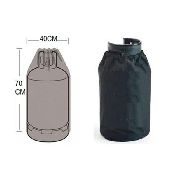 Mustang Gasfles beschermhoes voor 11 kg/27 liter gasfles