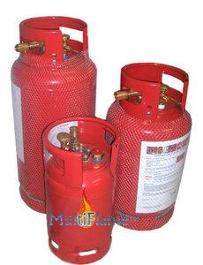 LPG gasfles / gasdamptank staal