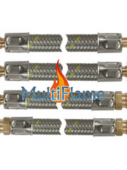 RVS flexibele gasslang