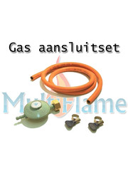 Gas aansluitset