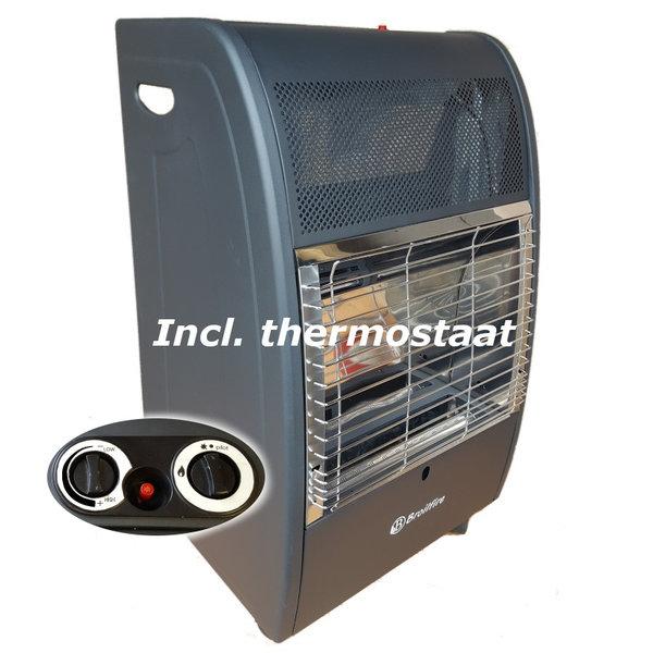 Broilfire BlueFlame gaskachel met thermostaat