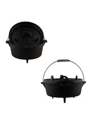 The Windmill Cast Iron Dutch Oven gietijzer