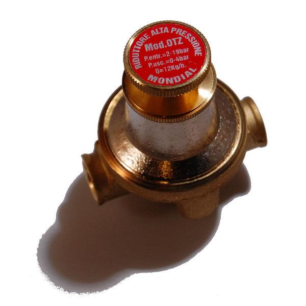 0 - 3 BAR 8 KG/H regelbare gasdrukregelaar