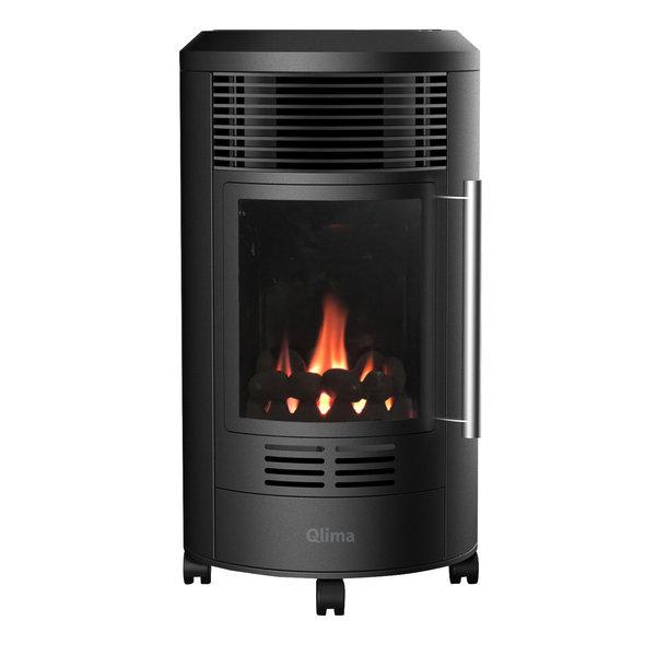 Qlima Sfeerhaard met echte vlammen en thermostaat 3.4 kW