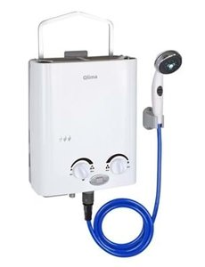 Qlima Mobiele gas geiser 5,5 liter
