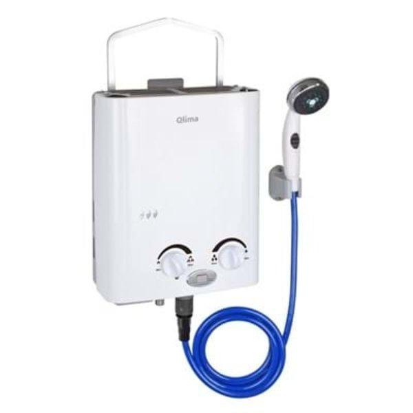 Qlima Mobiele gas geiser PGWH1010 5,5 liter