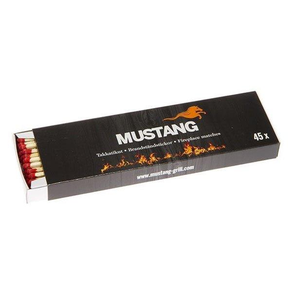 Mustang Lange lucifers extra veilig door de lengte 45 stuks