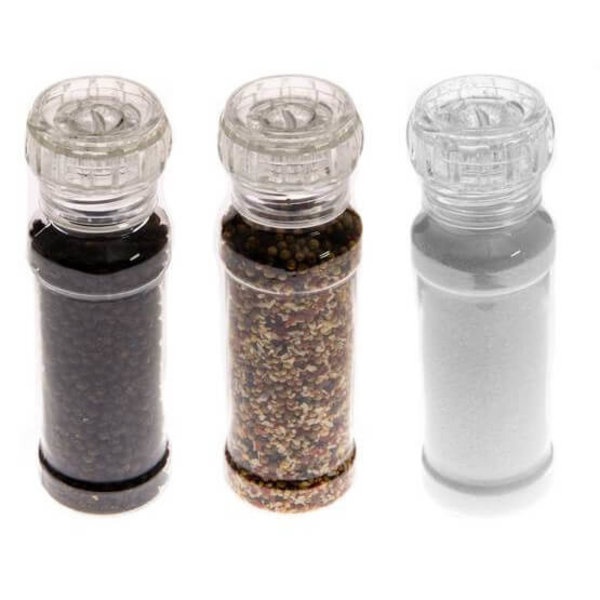 Mustang Kruidenset 3 stuks peper/zout/bbq kruiden