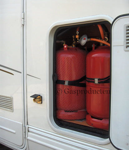 LPG gasfles inbouw voor camper / verkoop wagen