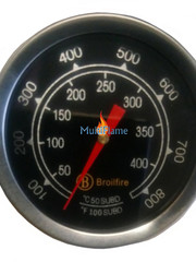 Broilfire BBQ thermometer RVS