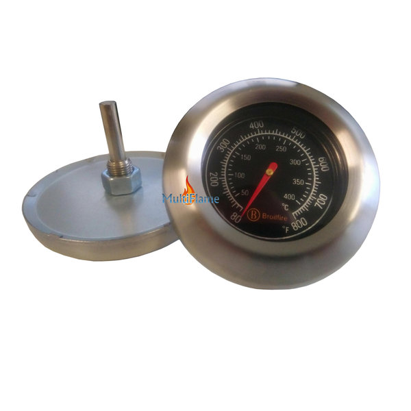 Broilfire BBQ thermometer RVS barbecue temperatuur meter
