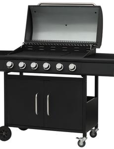 Mustang Gas grill Clarksville met 7 branders zwart