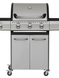 Mustang Gas grill Knoxville met 4 branders RVS
