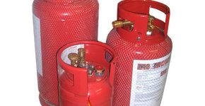 LPG hervulbare gasdamptanks