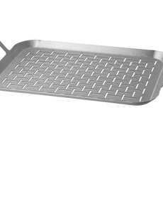Mustang RVS grill mand / topper