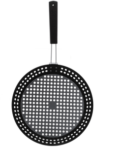 Mustang grill topper/pan 30 cm rond