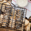 Mustang scharnierend grill rek anti aanbak 28 x 27 cm