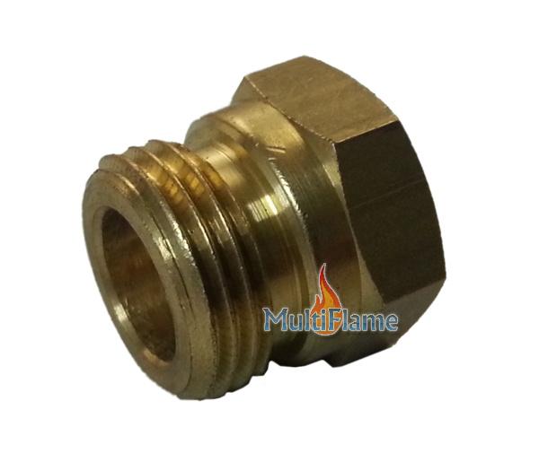 Gas koppeling draad diameter