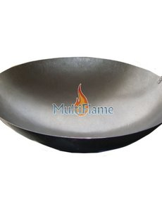 Broilfire Wokpan plaatstaal met handvaten