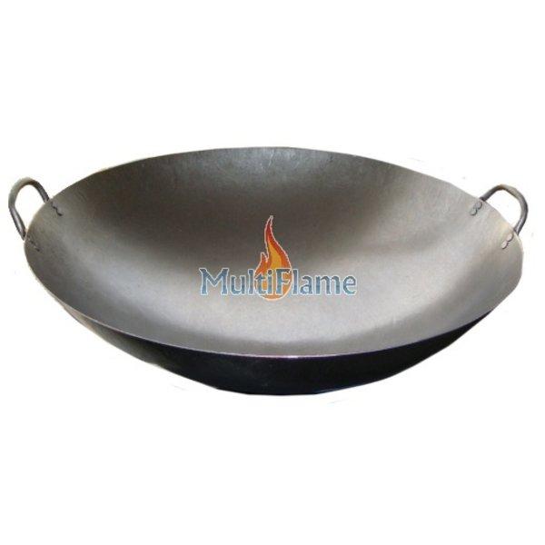 Broilfire Wokpan plaatstaal met handvaten 51 of 61 cm