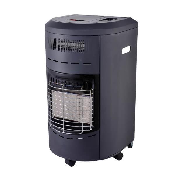 Infrarood gaskachel rond met ventilator
