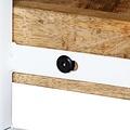 SnutsProducts Tv-meubel 150x30x40 cm massief mangohout