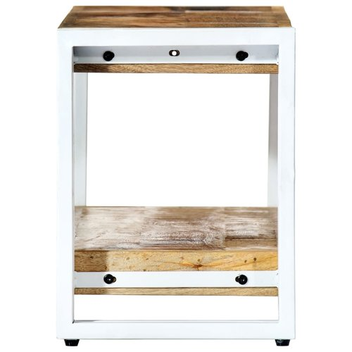SnutsProducts Tv-meubel 90x30x40 cm massief mangohout