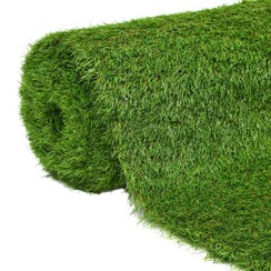 Kunstgras 1,5x10 m/40 mm groen
