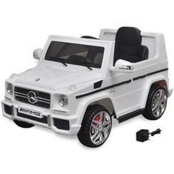 Elektrische auto Mercedes Benz G65 SUV 2 motors wit