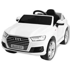 Elektrische speelgoedauto Audi Q7 6 V wit