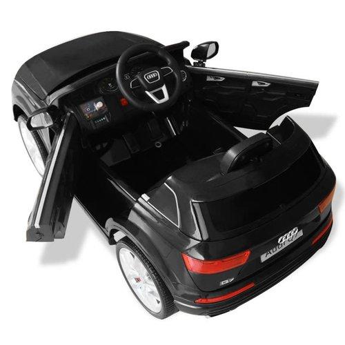 vidaXL Elektrische speelgoedauto Audi Q7 6 V zwart