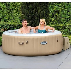 Bubbelbad rond PureSpa