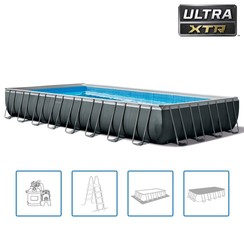 Zwembadset Ultra XTR Frame rechthoekig 975x488x132 cm