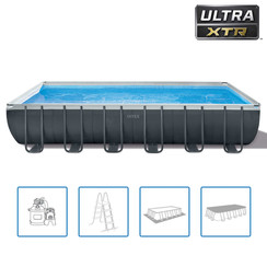 Zwembadset Ultra XTR Frame rechthoekig 732x366x132 cm
