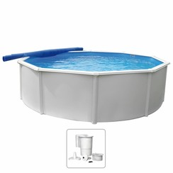 Zwembad Steely Deluxe rond 4,6x1,2 m