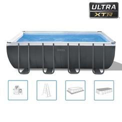 Zwembadset rechthoekig Ultra XTR Frame 549x274x132 cm 26356GN