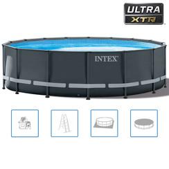Ultra XTR Frame Zwembadset rond 488x122 cm 26326GN