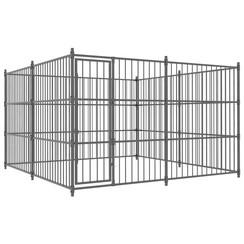 Hondenkennel voor buiten 300x300x185 cm