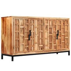 Dressoir 145x40x80 cm massief acaciahout