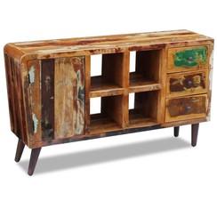 Dressoir massief gerecycled hout 150x40x86 cm