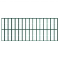 Dubbelstaafmat 2008 x 830 mm 30 m groen 15 stuks