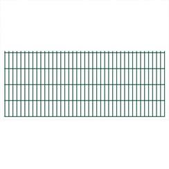 Dubbelstaafmat 2008 x 830 mm 20 m groen 10 stuks