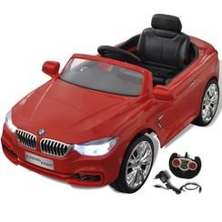 BMW Speelgoedauto met afstandsbediening rood