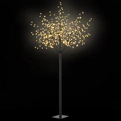 LED-bloesemboom voor binnen en buiten IP44 250 cm warm wit