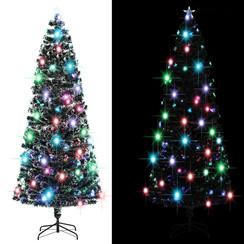 Kunstkerstboom met standaard/LED 240 cm 380 takken