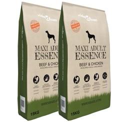 Premium hondenvoer Maxi Adult Essence Beef&Chicken 30kg 2 st